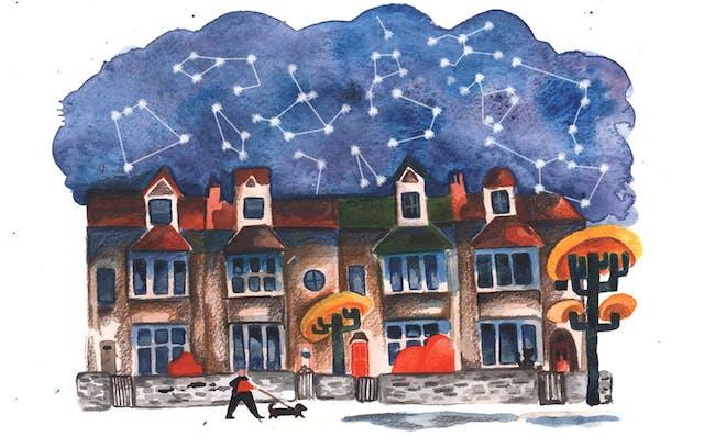 E Chopping Terrace Illustration