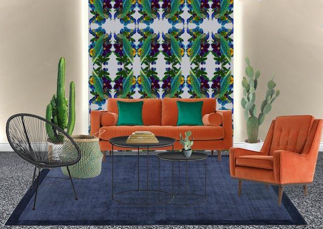 Morwenna Franks Arundel Crescent Lounge Interior Design