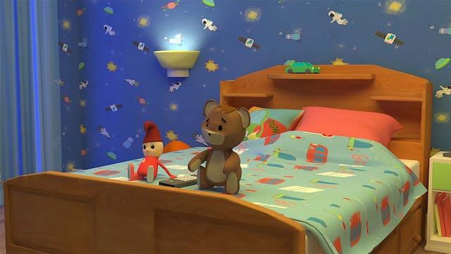 Animation student Krisztian Urr recreates a childs bedroom using CGI Computer Animation