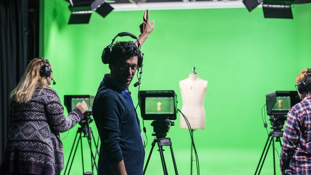 Students have access to our dedicated Film Studios and equipment