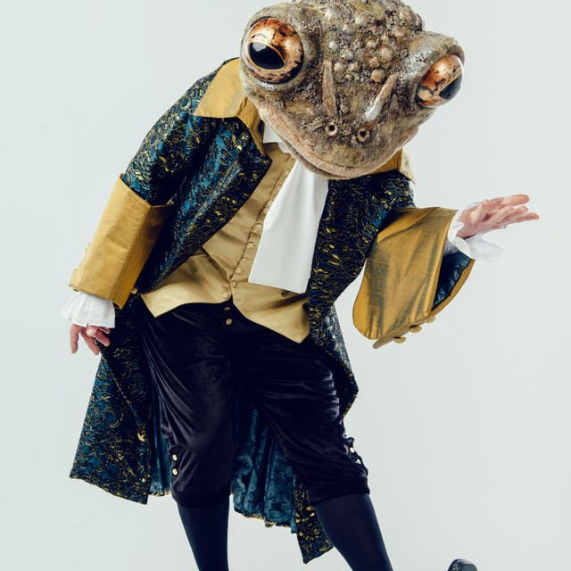 Frog costume by Hannah Mc Arthur