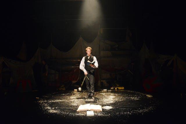 The Actors Wheel production of Faustus Photographer credit essential Claire Tregaskis