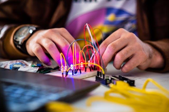Fab Lab hackfest project coding