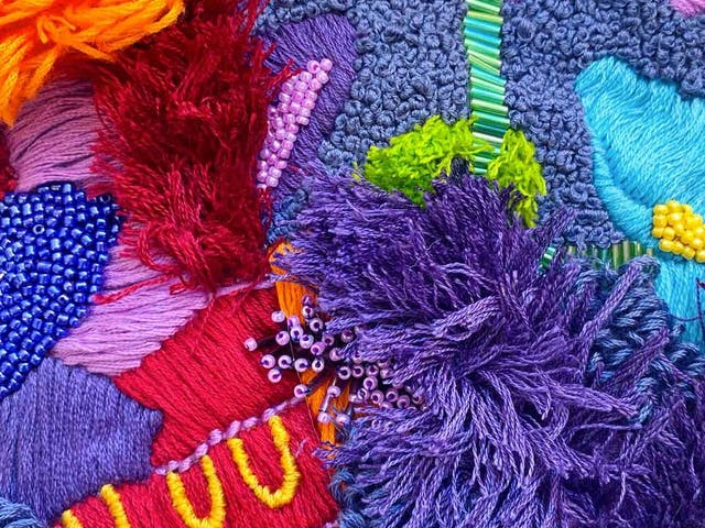 Work by Emily Gilbert BA Hons Textile Practices at Plymouth College of Art Class of 2021
