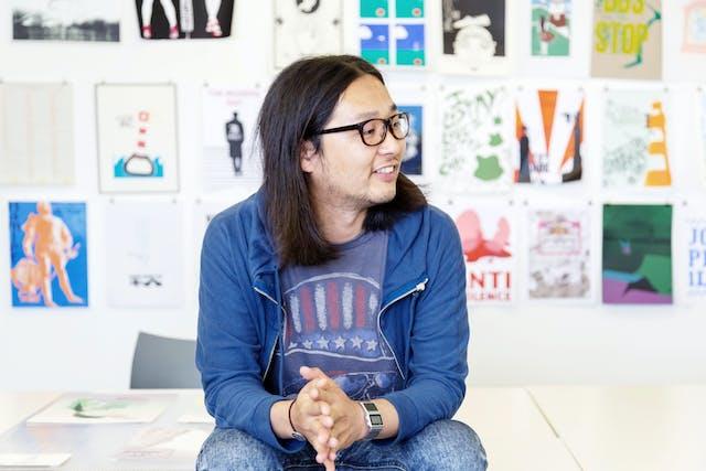 BA (Hons) Graphic Design student Tatsu Ishikawa