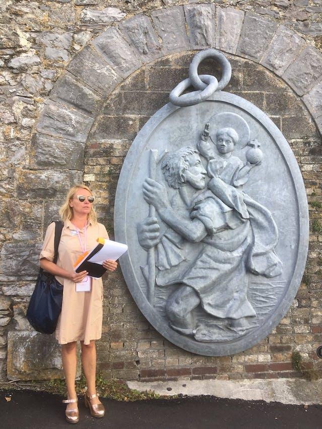 Bridgette Ashton prepares to lead the Worths Folly tour