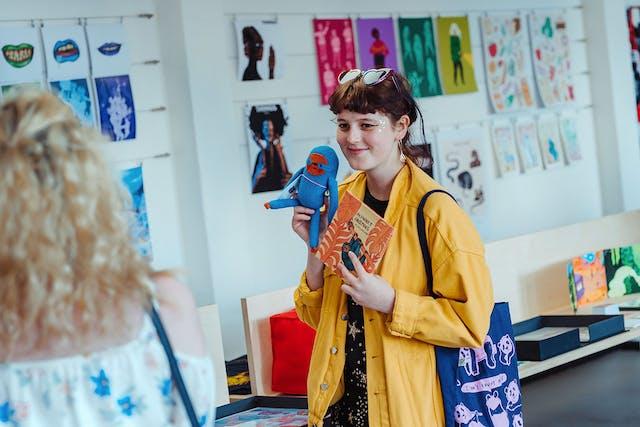 Alumni Mentoring Scheme Ella Waterson Illustration at Degree Shows 2019