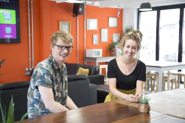 Alumni Mentoring Scheme Harry Richards and Allie Wood