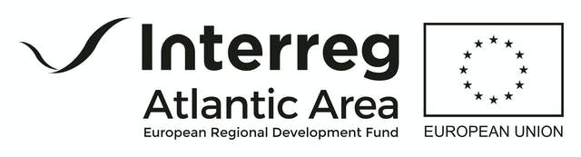 Logo Interreg Atlantic Area COLOR BLACK