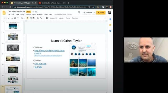 Jason de Caires Taylor Online Lecture