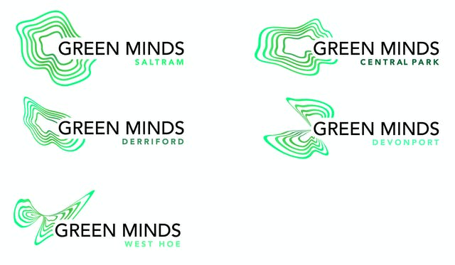 Green Minds Logos