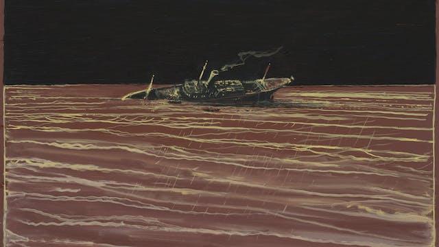 Richard Kenton Webb Wreck 2017 Oil on board