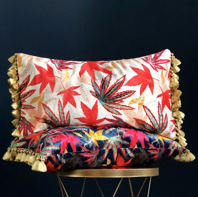 Amanda West Bolster cushions