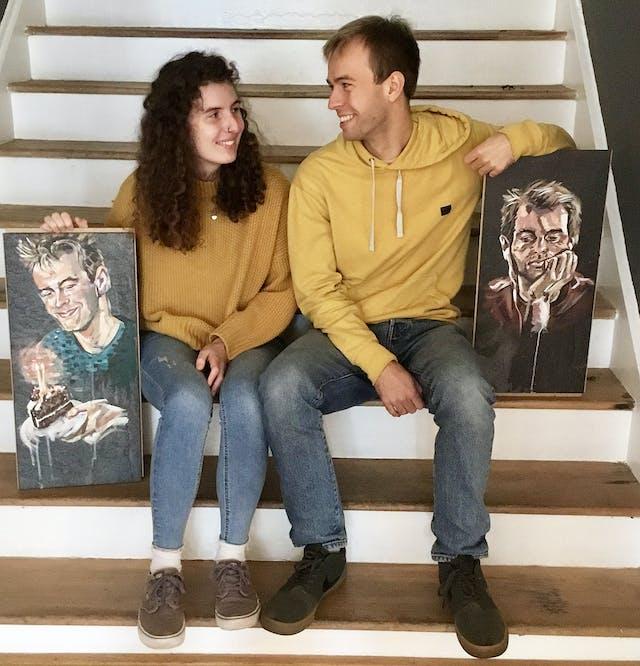 Sianan with boyfriend