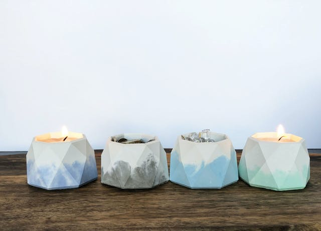 Amy Rouse Group candle holder pots