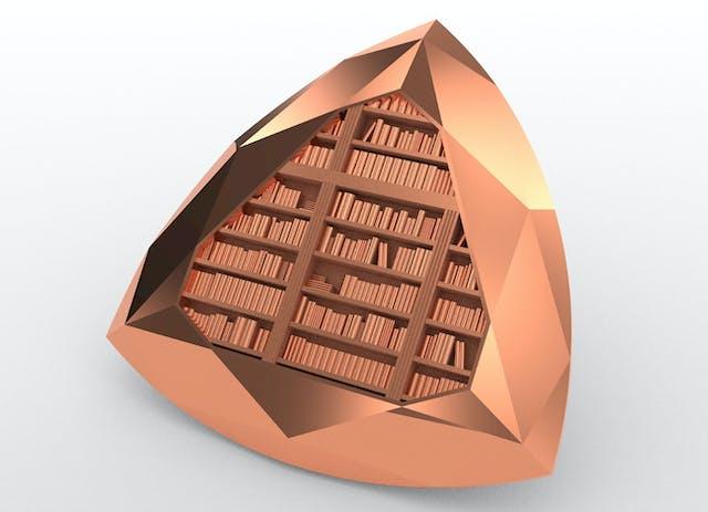 Medal Design Bookcase
