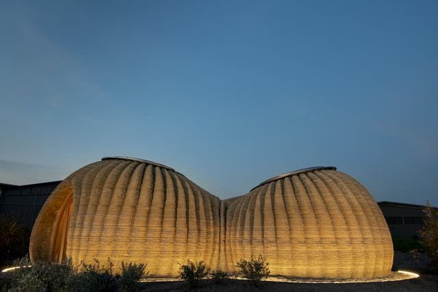 TECLA 3 D printed clay house 2 credit WASP and Mario Cucinella Architects