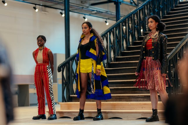 Patience Patiani Squire Plymouth College of Arts BA Hons Fashion Design Summer Show at The Market Hall part of IGNITE